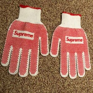 Supreme Accessories Gardening Gloves Springsummer 18 Poshmark